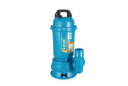 WQX(D)旋流式污水污物潜水电泵